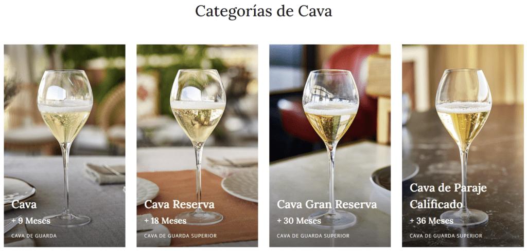 Servicio de Vinos Espumosos Screenshot CAVA