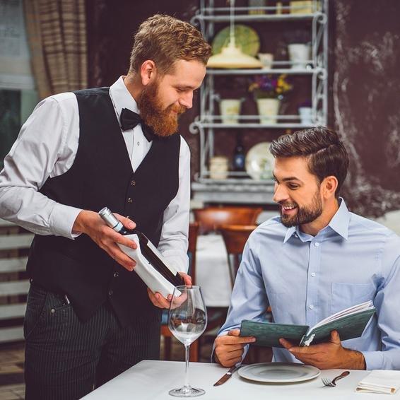 La carta de vinos. 5 factores clave. el tenedor fidelizar clientes carta de vinos restaurantes